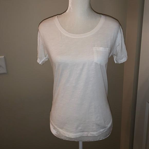 a.n.a Tops - ❌❌SOLD❌❌ a.n.a | White Pocket Shirt